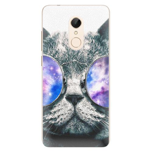 Silikonové pouzdro iSaprio - Galaxy Cat na mobil Xiaomi Redmi 5