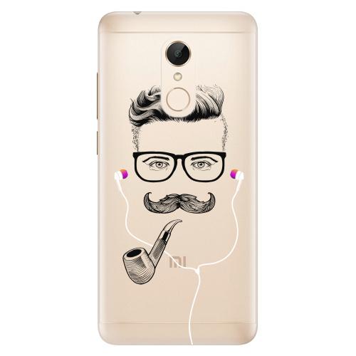 Silikonové pouzdro iSaprio - Man With Headphones 01 na mobil Xiaomi Redmi 5