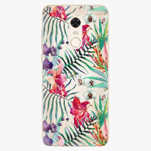 Silikonové pouzdro iSaprio - Flower Pattern 03 na mobil Xiaomi Redmi 5 Plus
