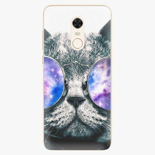 Silikonové pouzdro iSaprio - Galaxy Cat na mobil Xiaomi Redmi 5 Plus