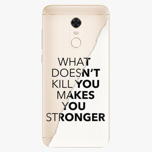 Silikonové pouzdro iSaprio - Makes You Stronger na mobil Xiaomi Redmi 5 Plus