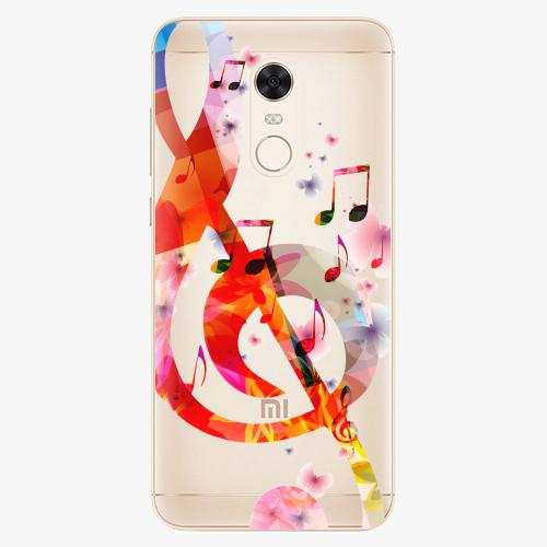 Silikonové pouzdro iSaprio - Music 01 na mobil Xiaomi Redmi 5 Plus