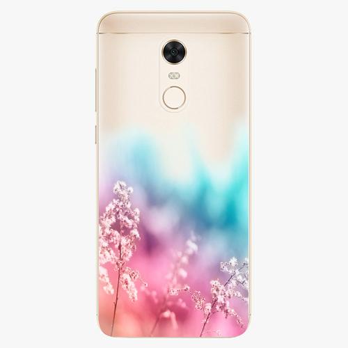 Silikonové pouzdro iSaprio - Rainbow Grass na mobil Xiaomi Redmi 5 Plus