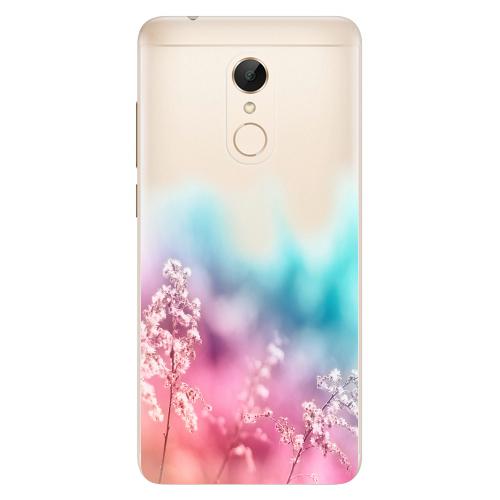 Silikonové pouzdro iSaprio - Rainbow Grass na mobil Xiaomi Redmi 5