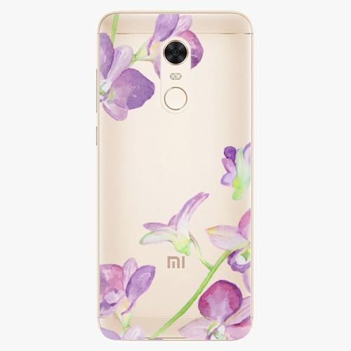 Silikonové pouzdro iSaprio - Purple Orchid na mobil Xiaomi Redmi 5 Plus