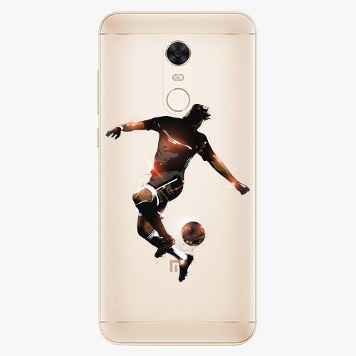 Silikonové pouzdro iSaprio - Fotball 01 na mobil Xiaomi Redmi 5 Plus