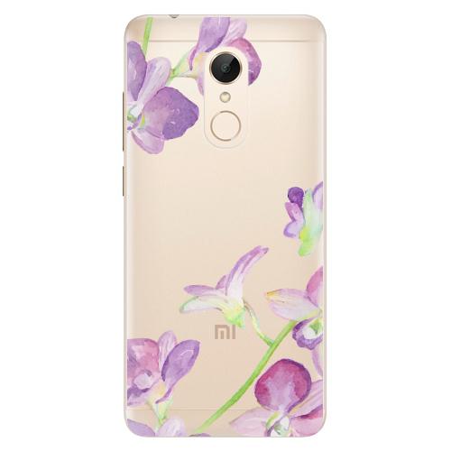 Silikonové pouzdro iSaprio - Purple Orchid na mobil Xiaomi Redmi 5