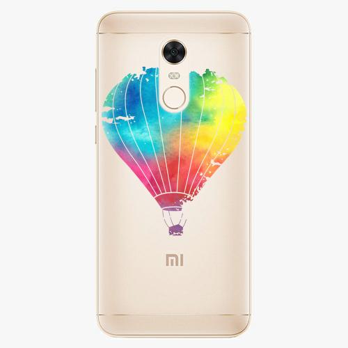 Silikonové pouzdro iSaprio - Flying Baloon 01 na mobil Xiaomi Redmi 5 Plus