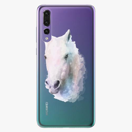 Silikonové pouzdro iSaprio - Horse 01 na mobil Huawei P20 Pro