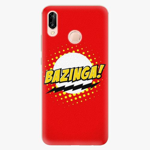 Silikonové pouzdro iSaprio - Bazinga 01 na mobil Huawei P20 Lite