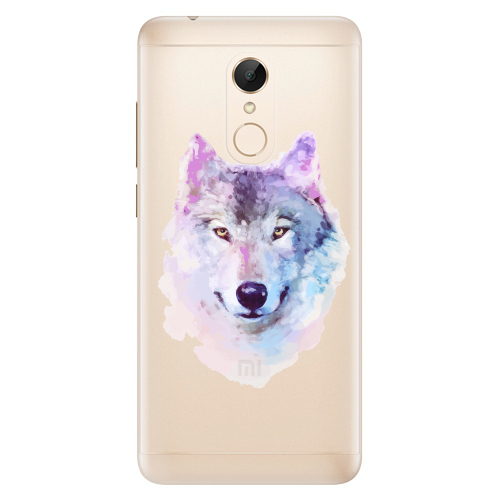 Silikonové pouzdro iSaprio - Wolf 01 na mobil Xiaomi Redmi 5