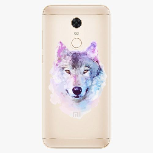 Silikonové pouzdro iSaprio - Wolf 01 na mobil Xiaomi Redmi 5 Plus