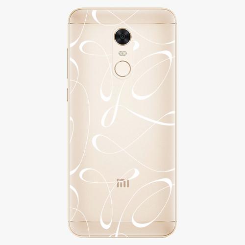 Silikonové pouzdro iSaprio - Fancy white na mobil Xiaomi Redmi 5 Plus