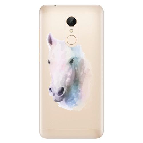 Silikonové pouzdro iSaprio - Horse 01 na mobil Xiaomi Redmi 5