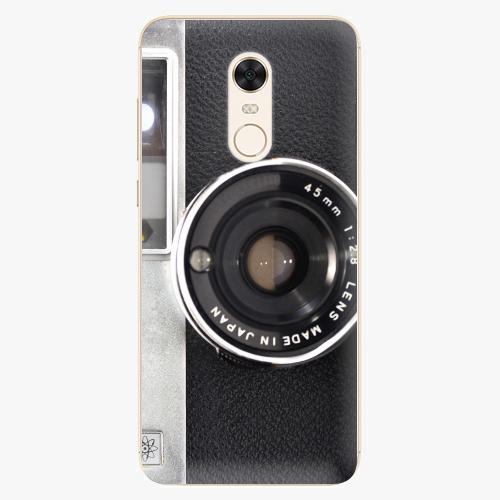 Silikonové pouzdro iSaprio - Vintage Camera 01 na mobil Xiaomi Redmi 5 Plus