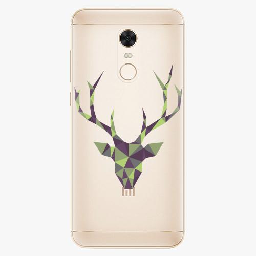 Silikonové pouzdro iSaprio - Deer Green na mobil Xiaomi Redmi 5 Plus