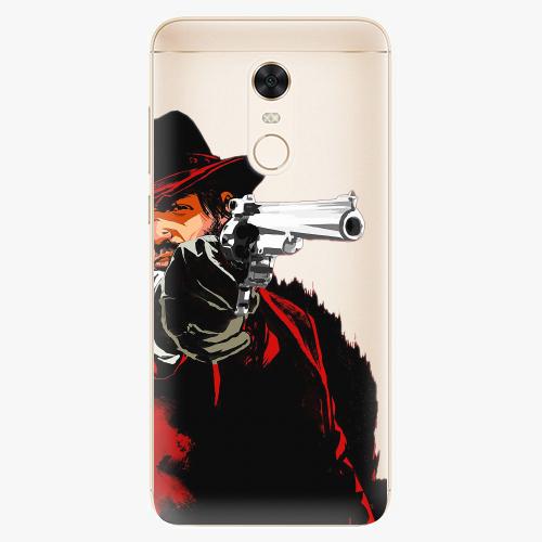 Silikonové pouzdro iSaprio - Red Sheriff na mobil Xiaomi Redmi 5 Plus