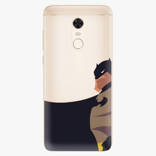 Silikonové pouzdro iSaprio - BaT Comics na mobil Xiaomi Redmi 5 Plus