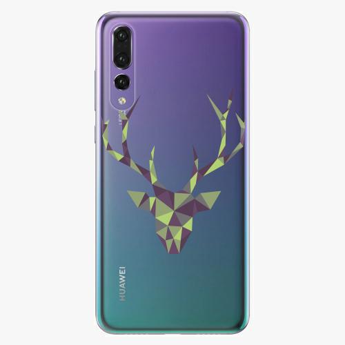Silikonové pouzdro iSaprio - Deer Green na mobil Huawei P20 Pro