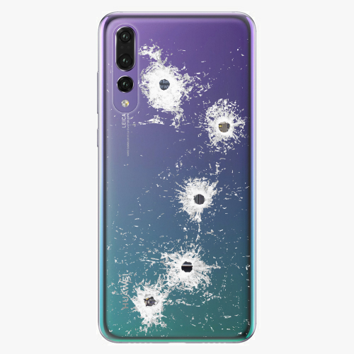 Silikonové pouzdro iSaprio - Gunshots na mobil Huawei P20 Pro
