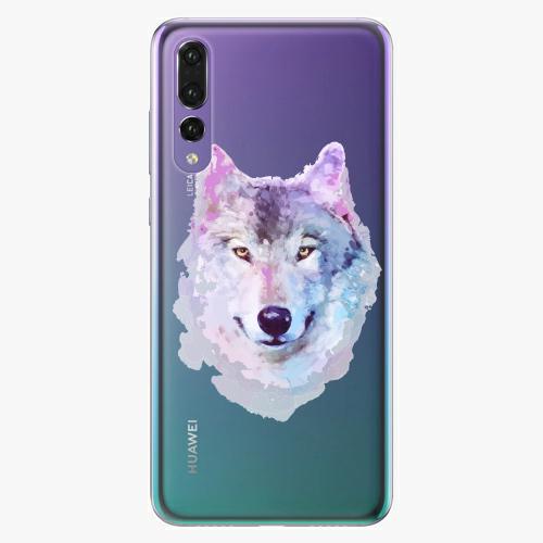 Silikonové pouzdro iSaprio - Wolf 01 na mobil Huawei P20 Pro