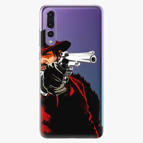 Silikonové pouzdro iSaprio - Red Sheriff na mobil Huawei P20 Pro