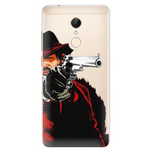 Silikonové pouzdro iSaprio - Red Sheriff na mobil Xiaomi Redmi 5