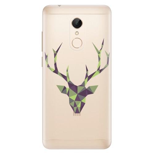 Silikonové pouzdro iSaprio - Deer Green na mobil Xiaomi Redmi 5