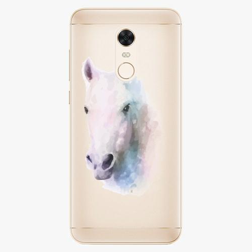 Silikonové pouzdro iSaprio - Horse 01 na mobil Xiaomi Redmi 5 Plus