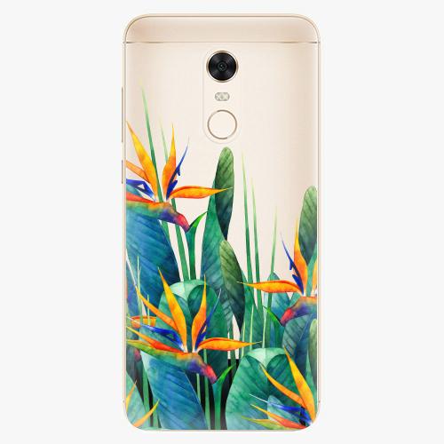 Silikonové pouzdro iSaprio - Exotic Flowers na mobil Xiaomi Redmi 5 Plus