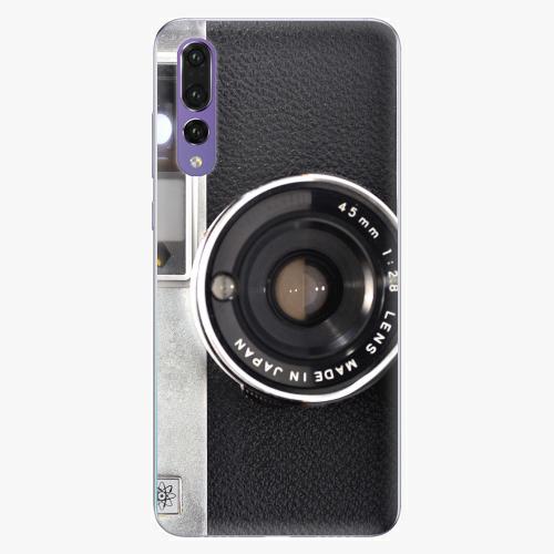 Silikonové pouzdro iSaprio - Vintage Camera 01 na mobil Huawei P20 Pro
