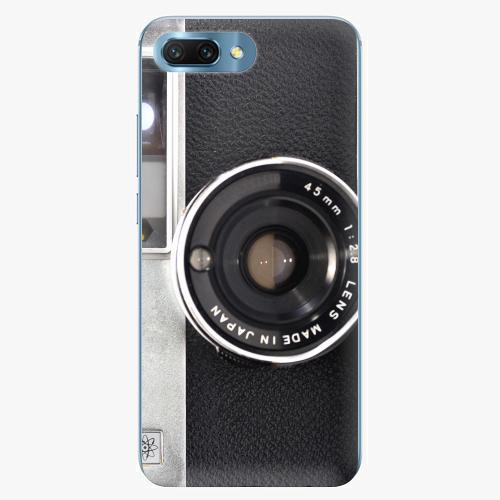 Silikonové pouzdro iSaprio - Vintage Camera 01 na mobil Honor 10