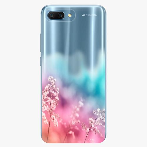 Silikonové pouzdro iSaprio - Rainbow Grass na mobil Honor 10