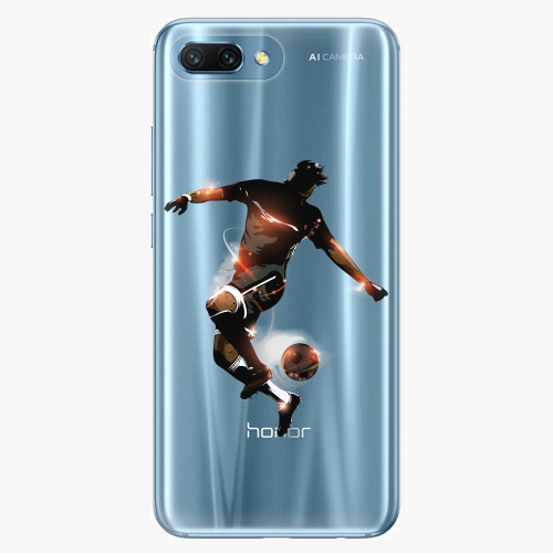 Silikonové pouzdro iSaprio - Fotball 01 na mobil Honor 10