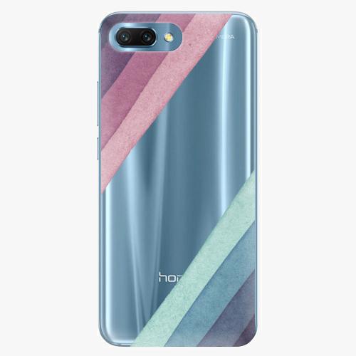 Silikonové pouzdro iSaprio - Glitter Stripes 01 na mobil Honor 10