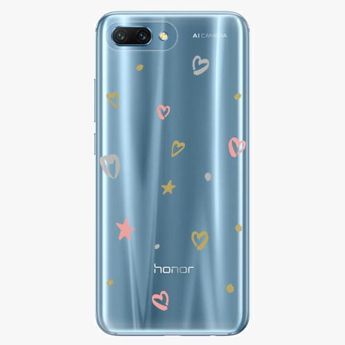 Silikonové pouzdro iSaprio - Lovely Pattern na mobil Honor 10