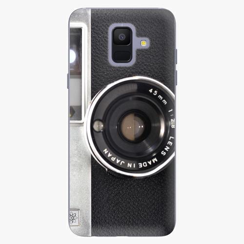 Silikonové pouzdro iSaprio - Vintage Camera 01 na mobil Samsung Galaxy A6 2018