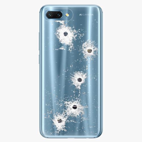 Silikonové pouzdro iSaprio - Gunshots na mobil Honor 10