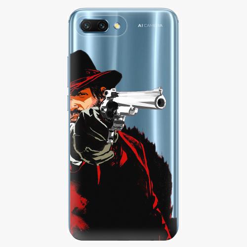 Silikonové pouzdro iSaprio - Red Sheriff na mobil Honor 10