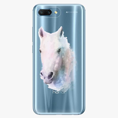 Silikonové pouzdro iSaprio - Horse 01 na mobil Honor 10