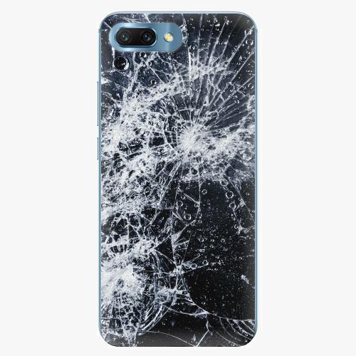 Silikonové pouzdro iSaprio - Cracked na mobil Honor 10