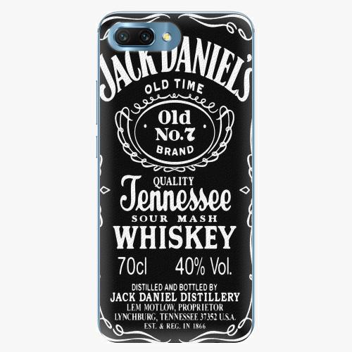 Silikonové pouzdro iSaprio - Jack Daniels na mobil Honor 10
