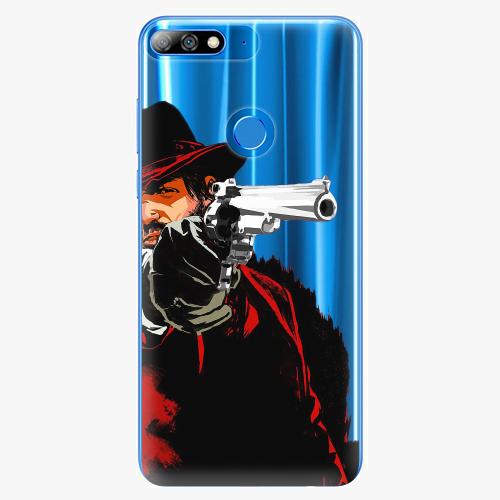 Silikonové pouzdro iSaprio - Red Sheriff na mobil Huawei Y7 Prime 2018