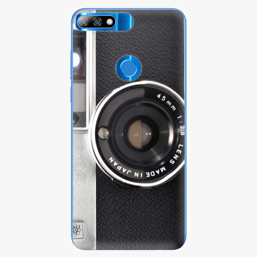 Silikonové pouzdro iSaprio - Vintage Camera 01 na mobil Huawei Y7 Prime 2018