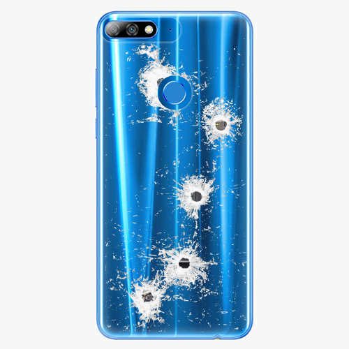 Silikonové pouzdro iSaprio - Gunshots na mobil Huawei Y7 Prime 2018
