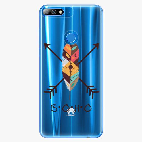 Silikonové pouzdro iSaprio - BOHO na mobil Huawei Y7 Prime 2018