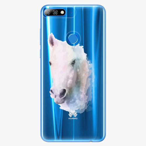 Silikonové pouzdro iSaprio - Horse 01 na mobil Huawei Y7 Prime 2018