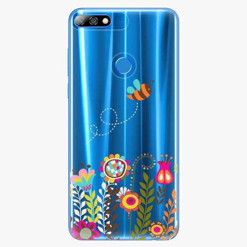 Silikonové pouzdro iSaprio - Bee 01 na mobil Huawei Y7 Prime 2018