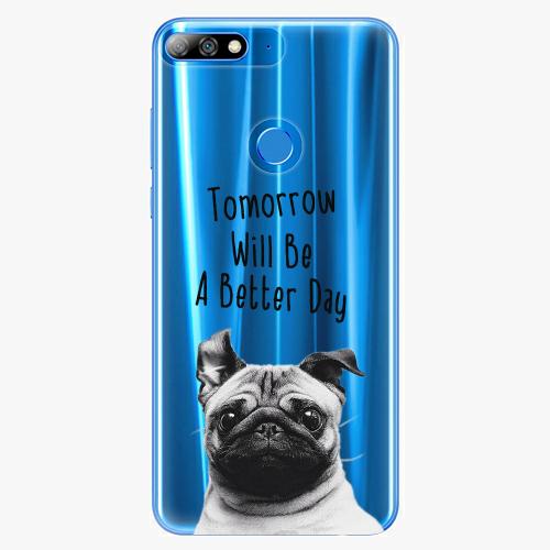 Silikonové pouzdro iSaprio - Better Day 01 na mobil Huawei Y7 Prime 2018