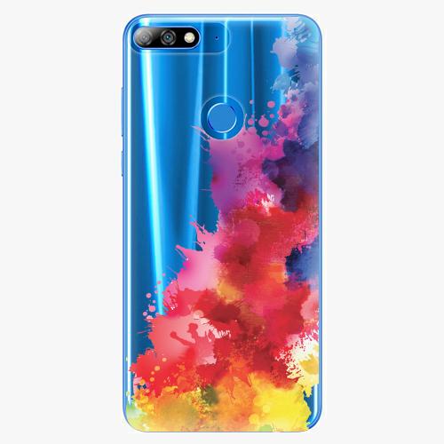 Silikonové pouzdro iSaprio - Color Splash 01 na mobil Huawei Y7 Prime 2018